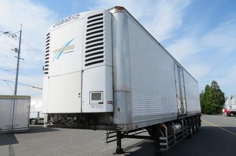 <価格変更⇩>トレクス 3軸 冷凍セミトレーラ 菱重 リフトアクスル エアサス 車検付